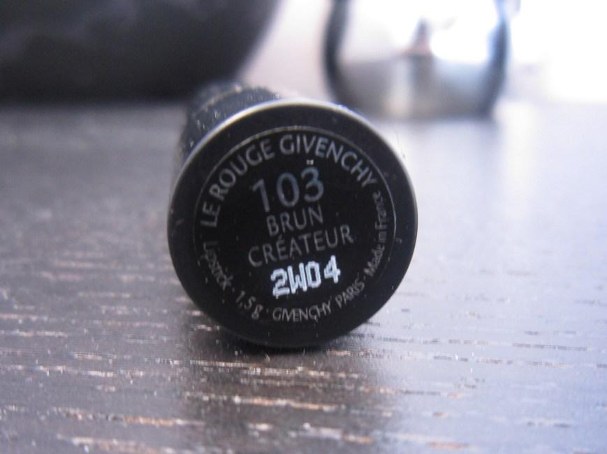 Givenchy Le Rouge 103 Brun Createur
