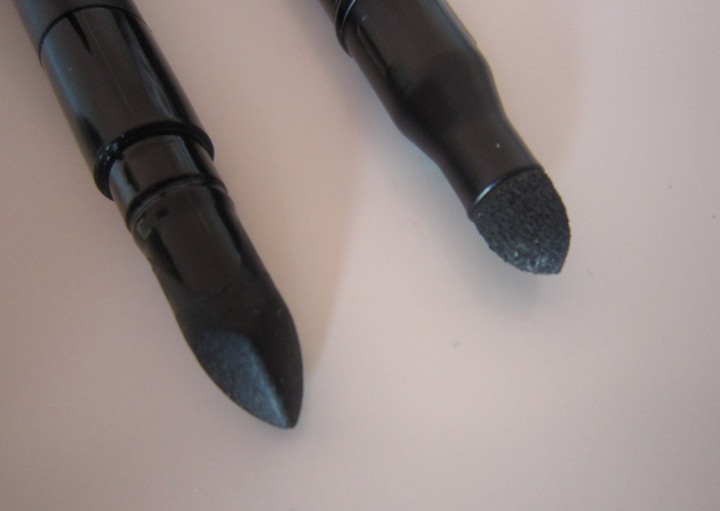 Giorgio Armani Waterproof Smooth Silk Eye Pencil and L'Oreal Extra-Intense Liquid Pencil Eyeliner smudger