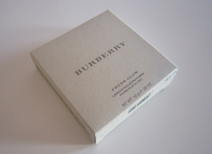 Burberry Fresh Glow Luminous Highlighting Powder Nude Radiance No. 1