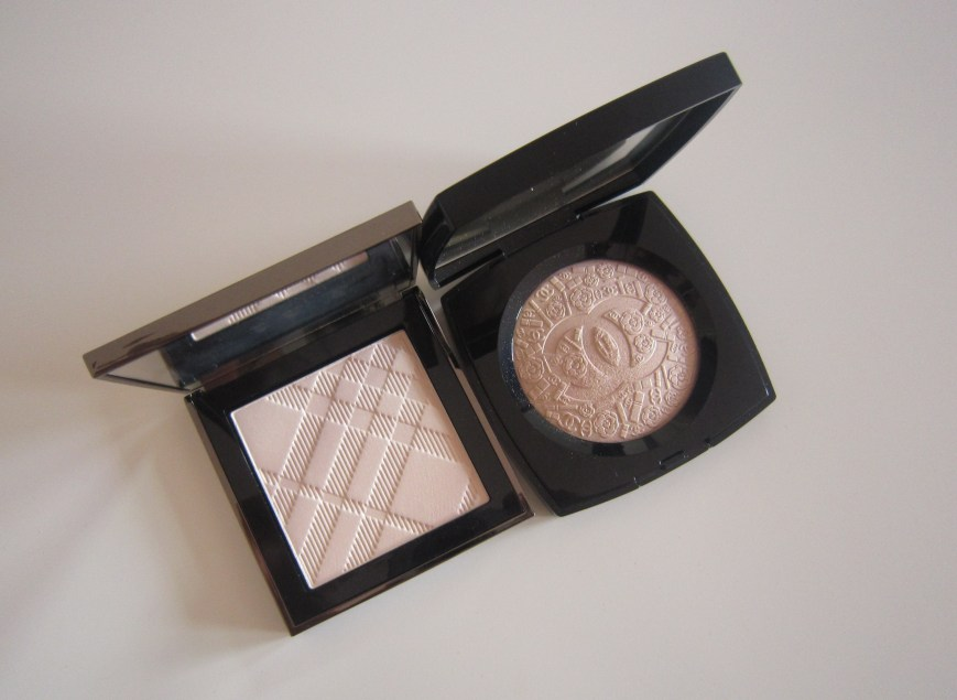 Burberry Fresh Glow Luminous Highlighting Powder Nude Radiance No. 1, chanel poudre signee de chanel illuminating powder