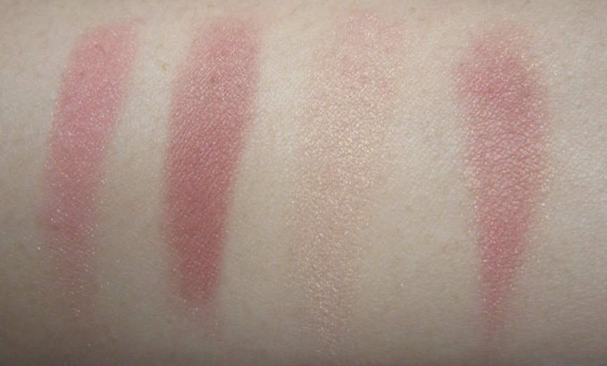 NARS Realm of the Senses blush palette swatch
